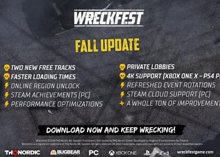 Wreckfest Fall Update