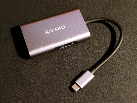 VAKO 4-in-1 USB-C HUB