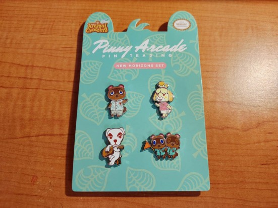 Animal Crossing: New Horizons Pin Set