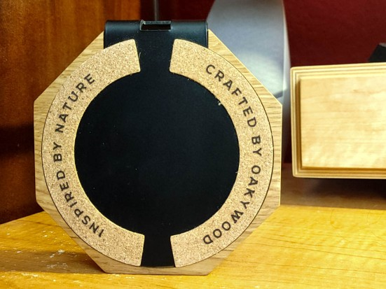 Oakywood 2-in-1 Headphone Stand and Charger