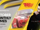 PS Plus Games for October – Need for Speed: Payback and Vampyr