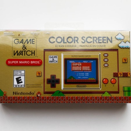 Nintendo Game & Watch: Super Mario Bros.