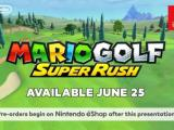 Mario Golf: Super Rush Coming to Nintendo Switch on June 25 | Trailer