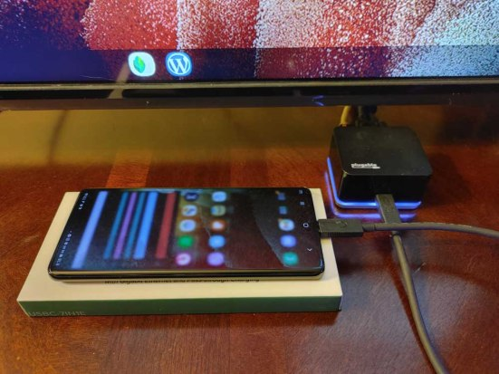 Samsung DeX with Galaxy S21 Ultra 5G