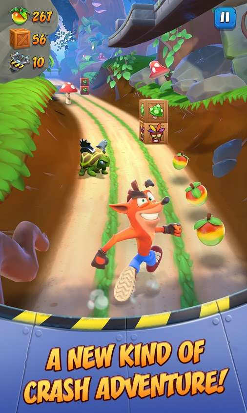 Cover art Crash Bandicoot: On the Run!