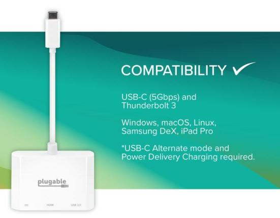 Plugable USB-C Multiport Adapter