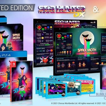Star Hunter DX & Space Moth: Lunar Edition